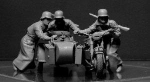 Motoristas Alemanes 1942-43  (Vista 3)