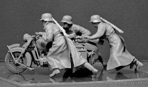 Motoristas Alemanes 1942-43  (Vista 4)