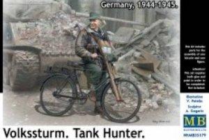 Volkssturm Tank Hunter German Teenager o  (Vista 1)