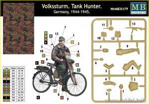 Volkssturm Tank Hunter German Teenager o  (Vista 2)