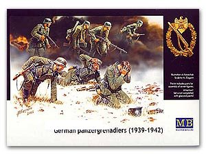 German Panzergrenadiers 1939-42  (Vista 1)