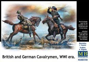 British and German Cavalrymen, WWI  (Vista 1)