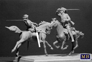 British and German Cavalrymen, WWI  (Vista 2)