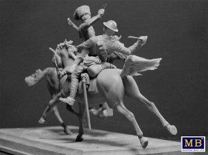 British and German Cavalrymen, WWI  (Vista 3)