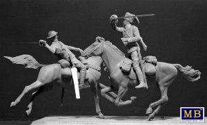 British and German Cavalrymen, WWI  (Vista 4)