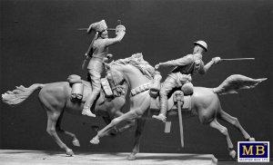 British and German Cavalrymen, WWI  (Vista 5)