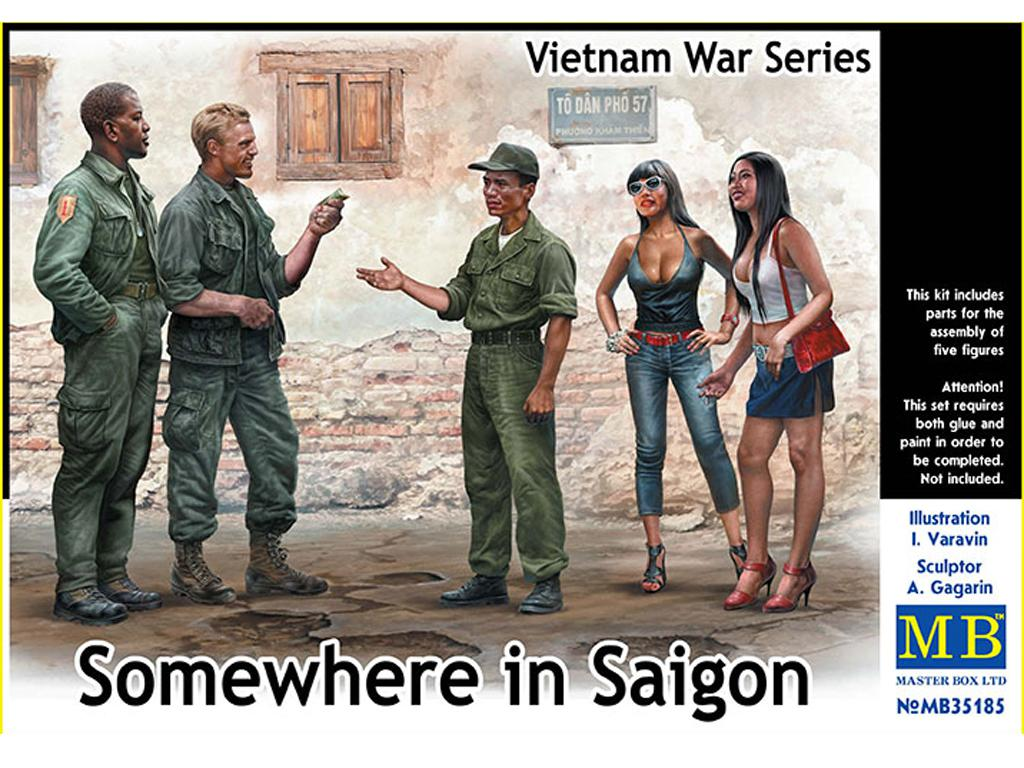Somewhere in Saigon