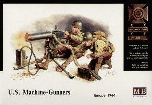 US Machine gunners, Europe 1944  (Vista 1)