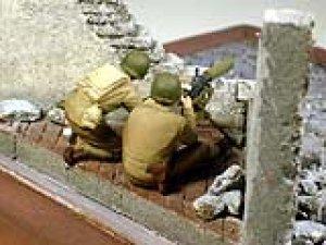 US Machine gunners, Europe 1944  (Vista 4)