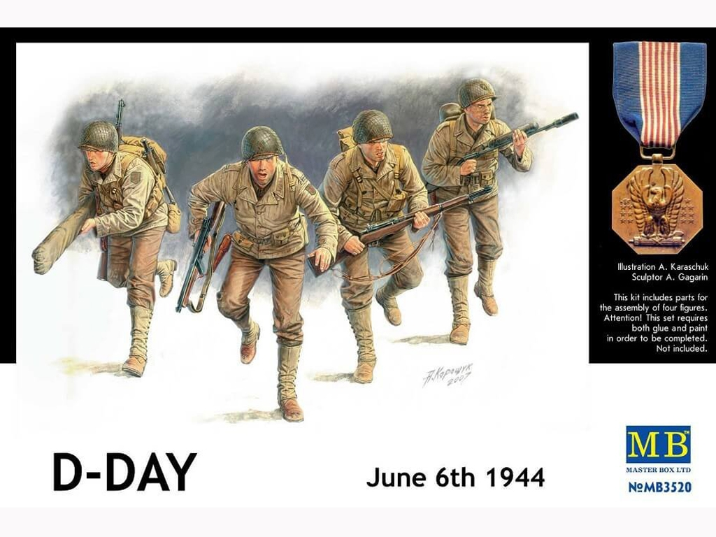 Infanteria Americana D-DAY Junio 1944  (Vista 1)