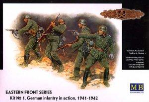 Infantería Alemana en acción 1941/42  (Vista 1)