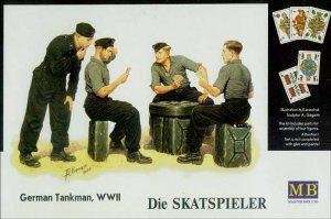 Tanquistas Alemanes descansando - Ref.: MBOX-3525