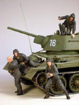 Tanquistas Rusos, Kursk 1943  (Vista 2)