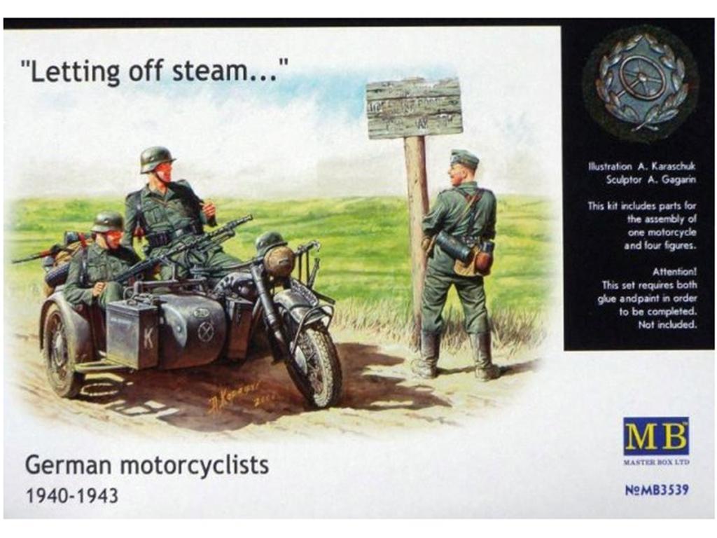 Motorista Aleman 1940-1943  (Vista 1)