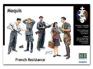 Maquis, Resistencia Francesa  (Vista 1)