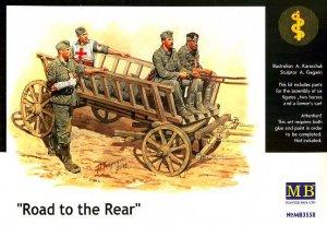 Carromato alemán transportando heridos  (Vista 1)