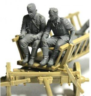 Carromato alemán transportando heridos  (Vista 4)