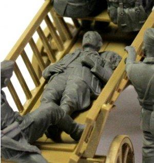 Carromato alemán transportando heridos  (Vista 6)