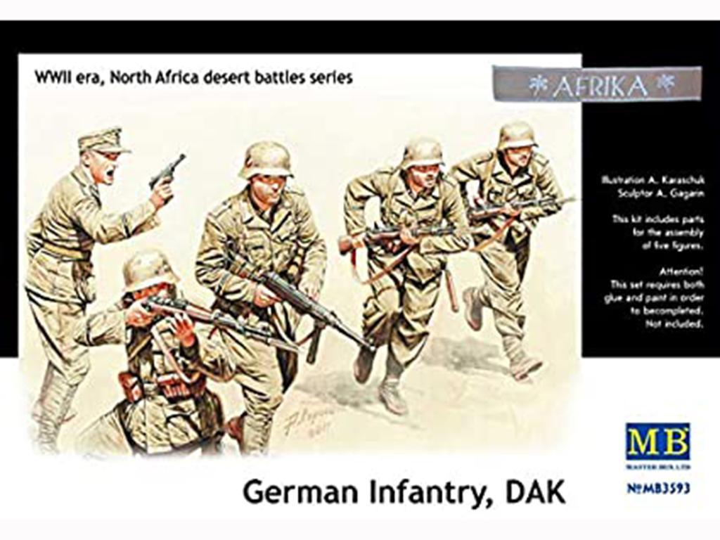 DAK, German Infantry   (Vista 1)