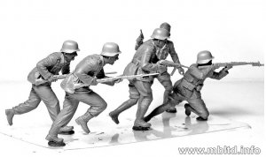 DAK, German Infantry   (Vista 4)