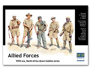 Allied Forces, North Africa, WWII   (Vista 1)