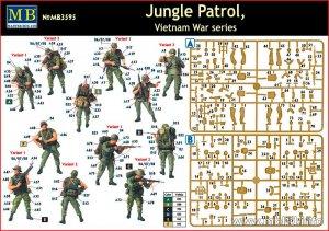 Jungle Patrol, Vietnam War Series  (Vista 6)