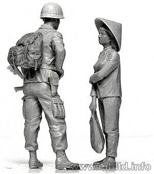 Patroling. Vietnam War series  (Vista 3)