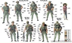 Patroling. Vietnam War series  (Vista 6)