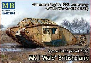 MK I Male British Tank  (Vista 1)