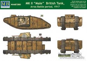 MK II Male British Tank, Arras Battle pe  (Vista 2)