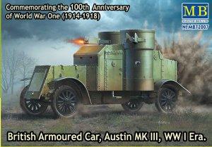 British Armoured Car, Austin, MK III, WW  (Vista 1)