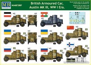 British Armoured Car, Austin, MK III, WW  (Vista 2)