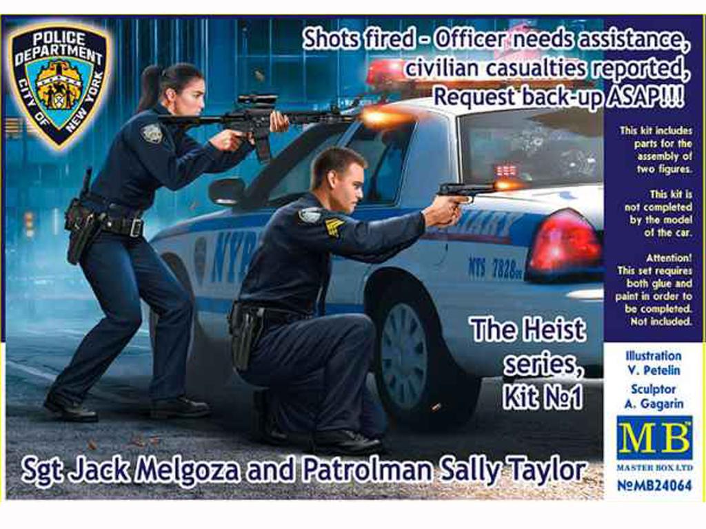 Disparos - Un oficial necesita ayuda (Vista 1)