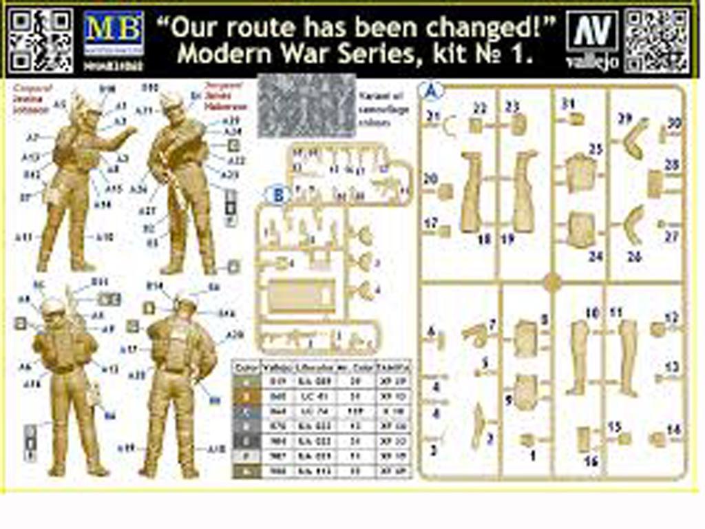 Nuestra ruta ha sido cambiada (Vista 2)