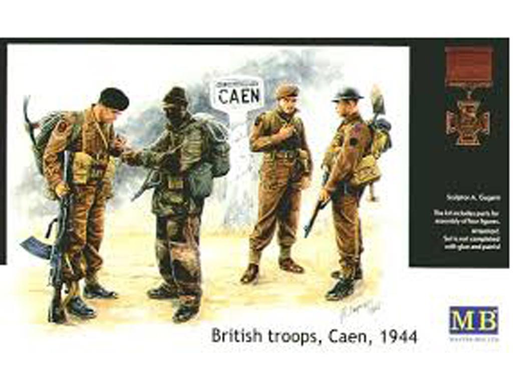 Tropas británicas Caen 1944 (Vista 1)