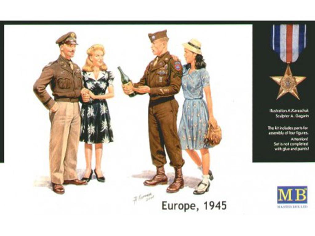 Europa, 1945 (Vista 1)