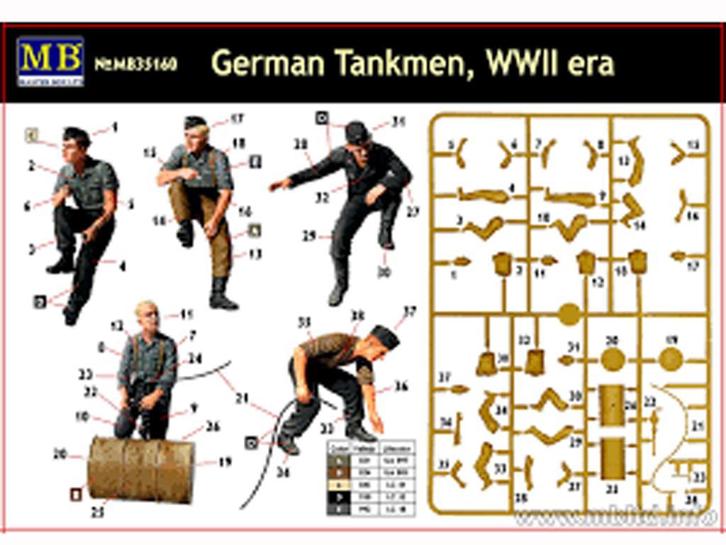 Tanquistas Alemanes (Vista 3)