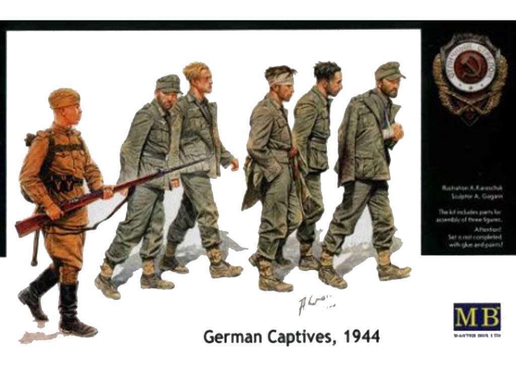Prisioneros Alemanes 1944 (Vista 1)
