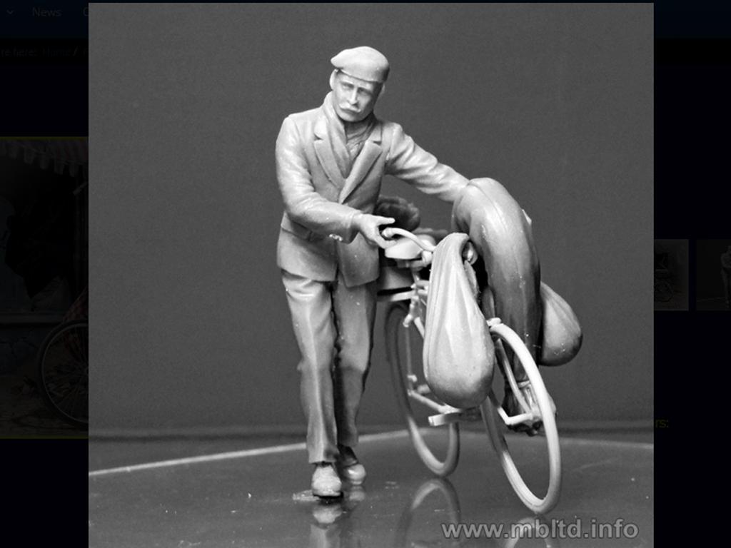 Civil Europeo en Bicicleta 1945  (Vista 4)