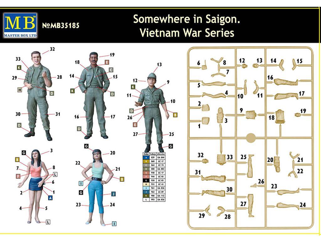 En algún lugar de Saigón (Vista 2)