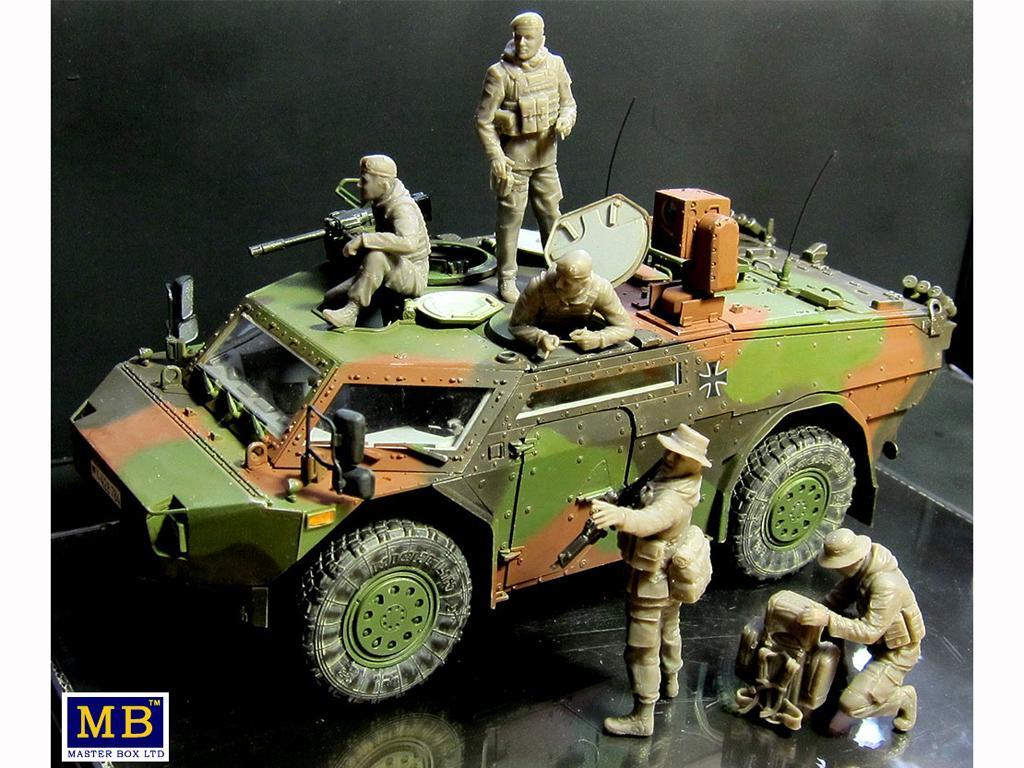 Soldados Alemanes Modernos (Vista 5)
