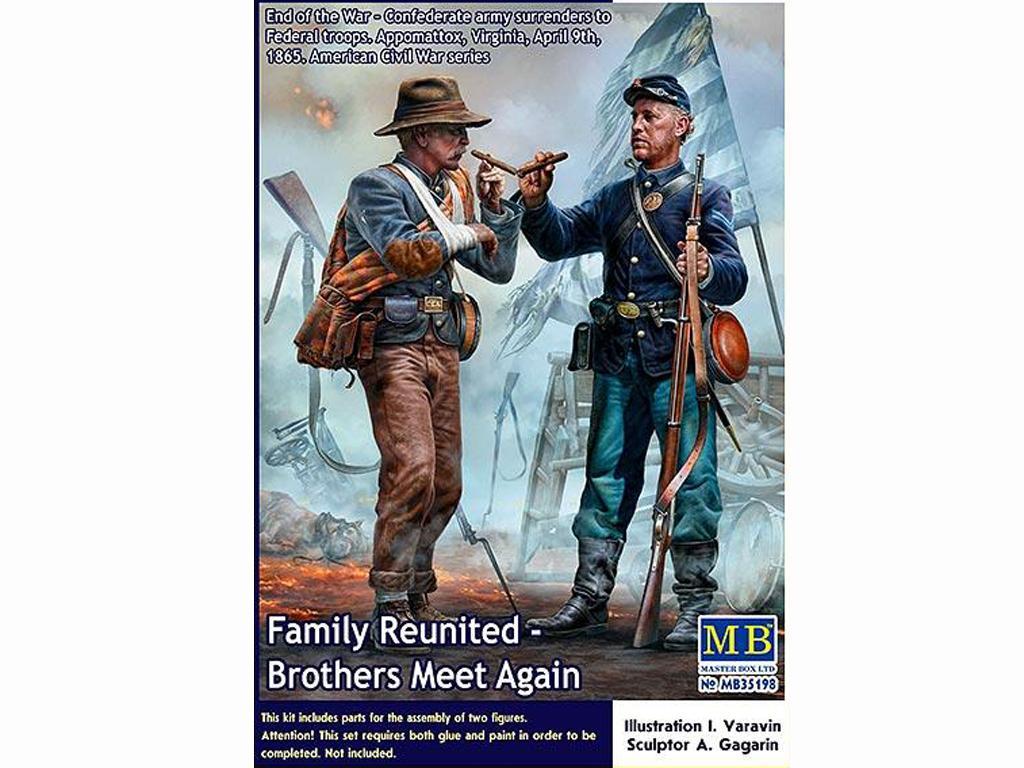 Los hermanos se encuentran de nuevo (Vista 1)
