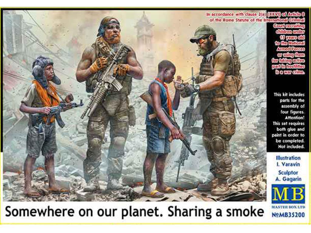 Compartiendo un cigarro (Vista 1)