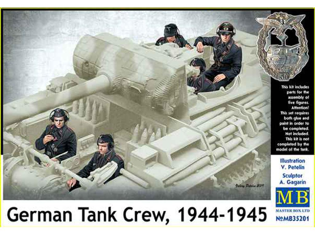 Tanquistas Alemanes 1944-45 (Vista 1)