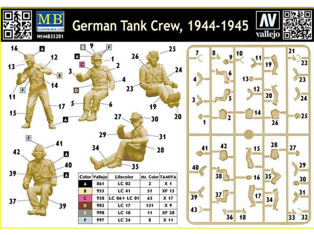Tanquistas Alemanes 1944-45 (Vista 2)