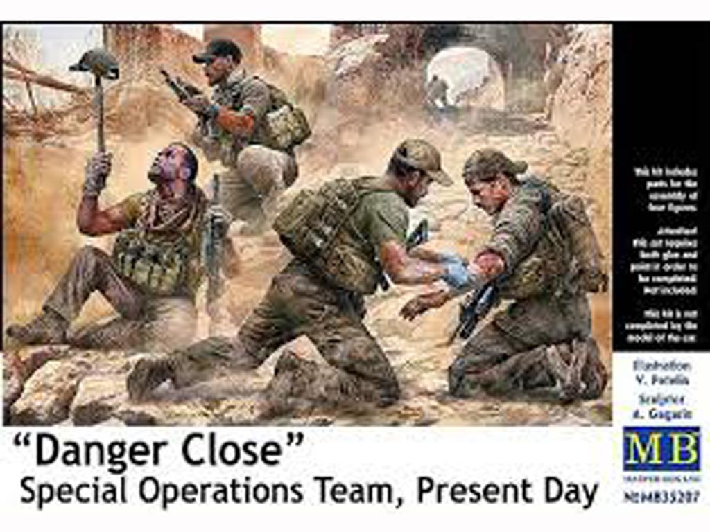 Peligro Cercano - Equipo de Operación Especial, Actualidad (Vista 1)