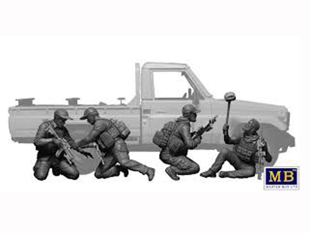 Peligro Cercano - Equipo de Operación Especial, Actualidad (Vista 3)