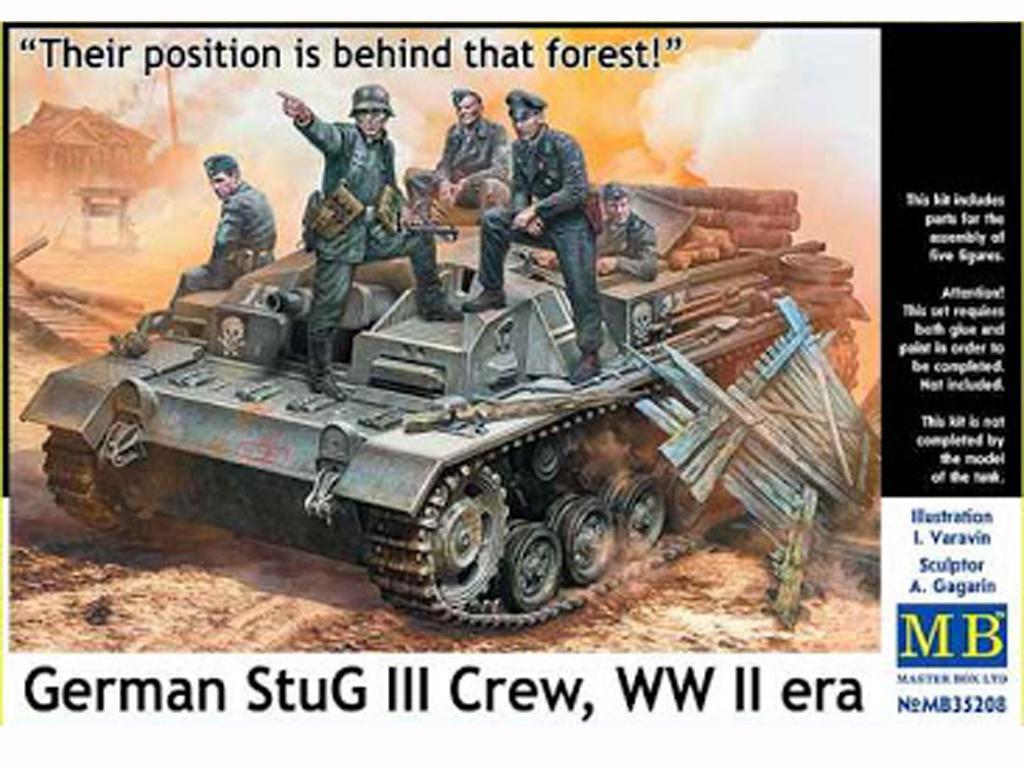 Tanquistas para Stug III (Vista 1)
