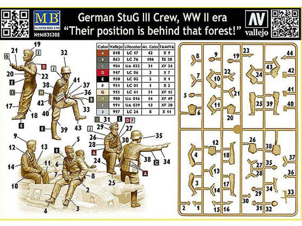 Tanquistas para Stug III (Vista 2)