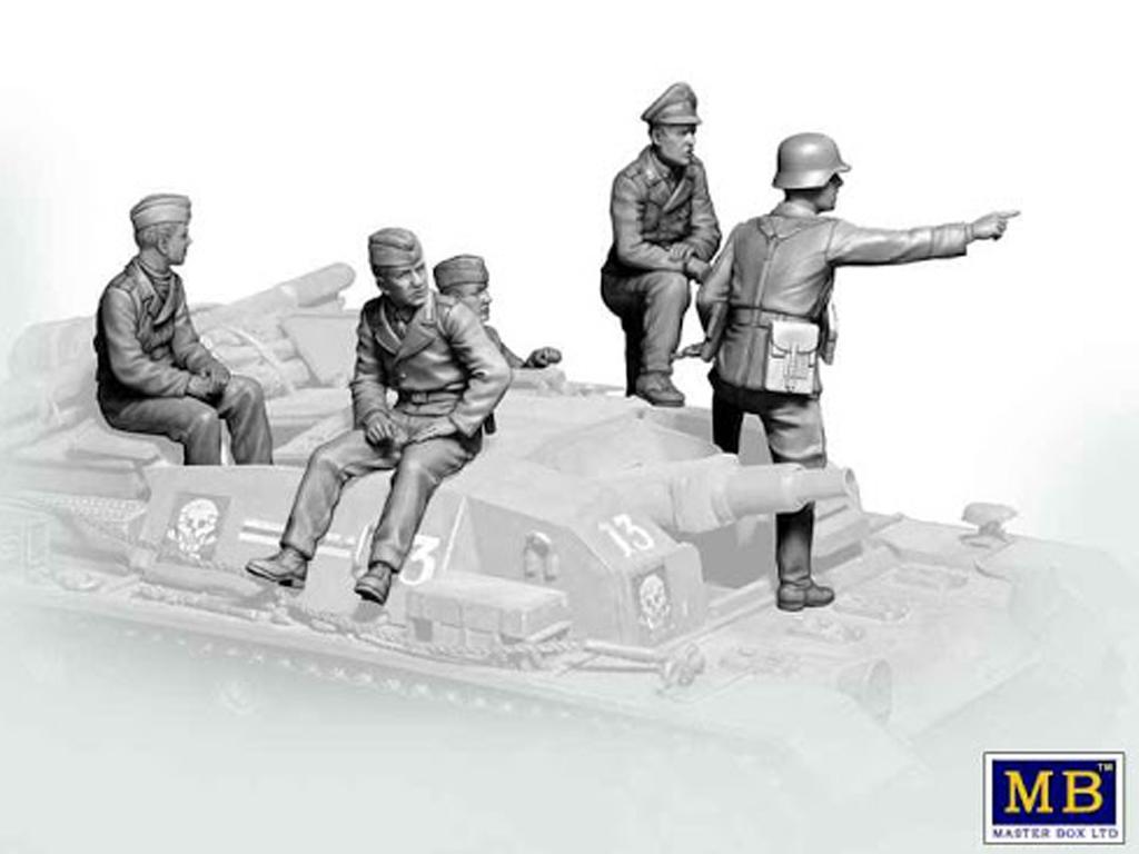 Tanquistas para Stug III (Vista 3)